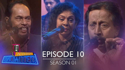 Acoustica Unlimited with Nimal Gunasekara & Maya Damayanthi & Rohana Siriwardana - 28-07-2019